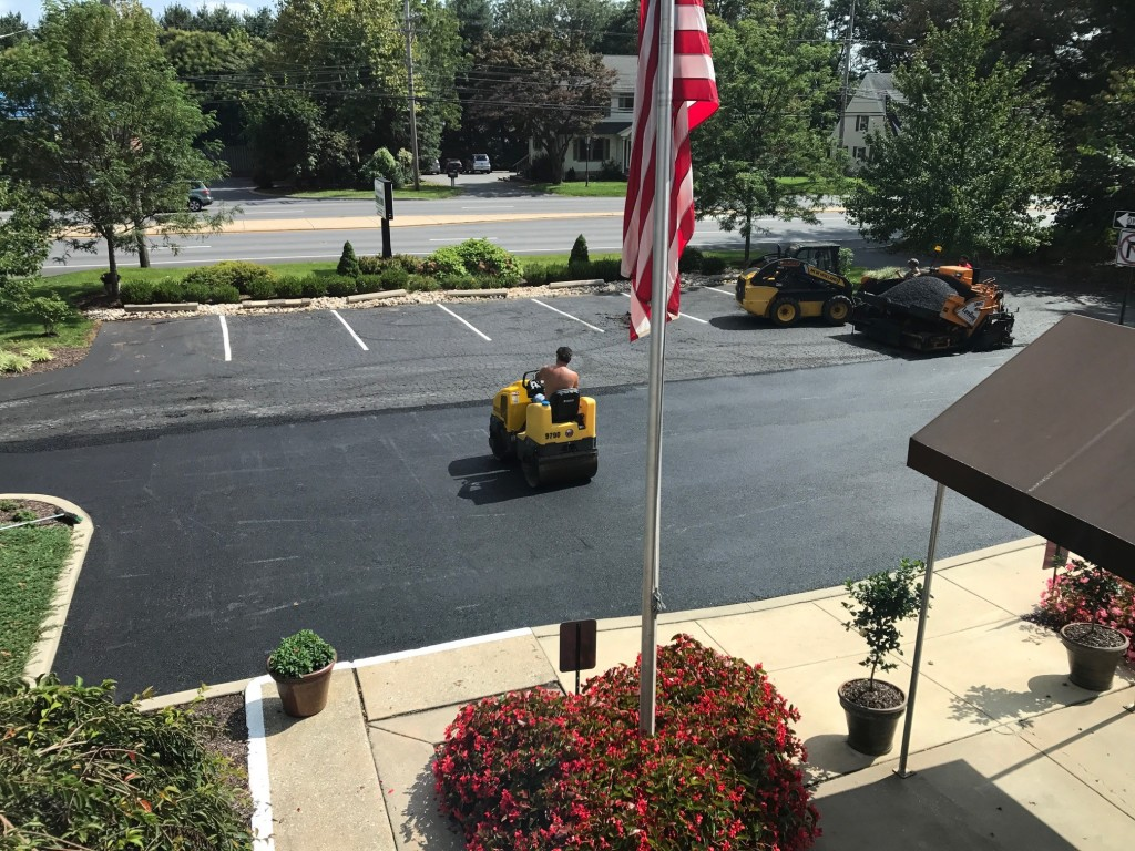2017 parking lot resurfacing project