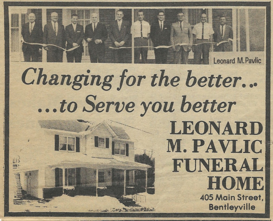 Ad in The Bentworth Times 1986