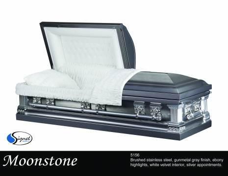 Moontone - Stainless Steel - Standard Casket
