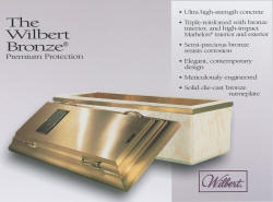 Wilbert Solid Bronze - The Ultimate in Burial Vaults