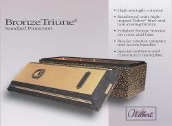 Bronze Triune - Premium Burial Vault