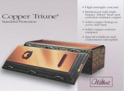 Copper Triune - Premium Burial Vault