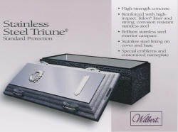 SST - Stainless Steel Triune - Stainless Steel is the Standard in Burial Vaults