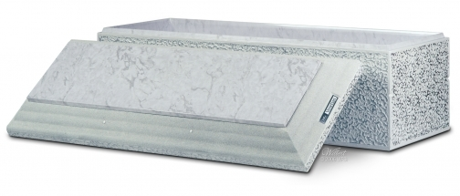 Venetian - Basic Plus Vault - ABS Plastic Liner inside and on top.  May be personalized
