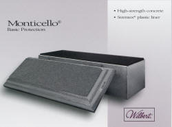 Monticello - Basic Vault - Strentex Plastic Lined
