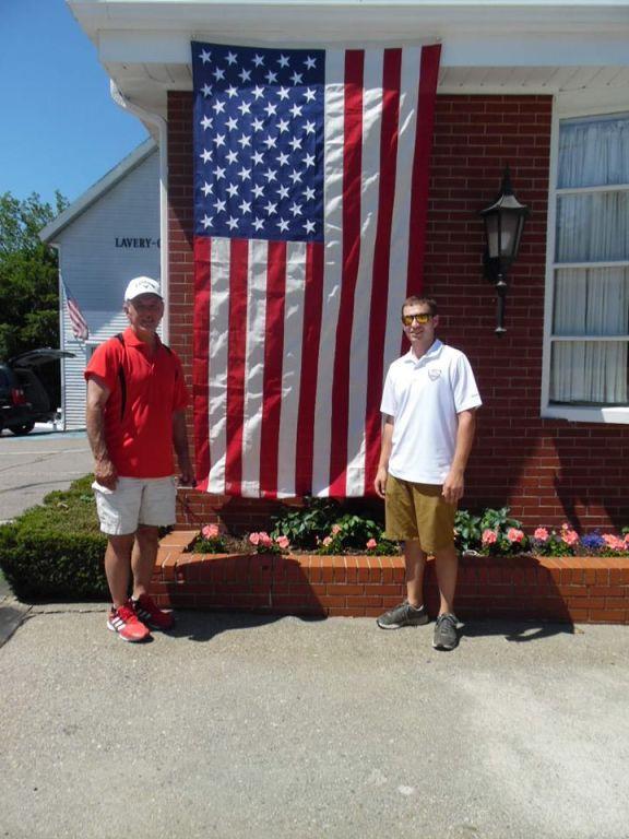 Michael Alario and Son, Michael Jr. �� in Fitchburg, Massachusetts.