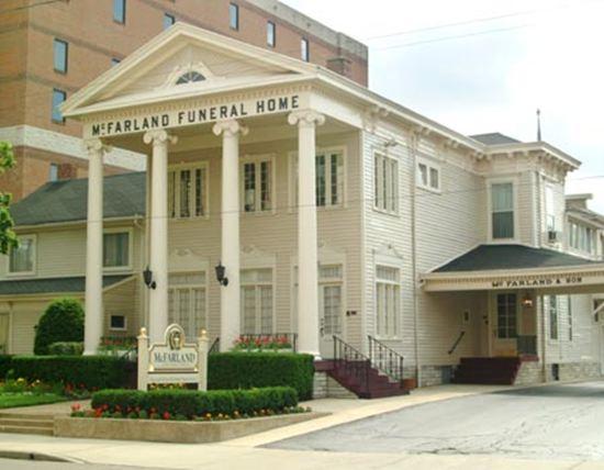 McFarland-Barbee Family Funeral Home Facade