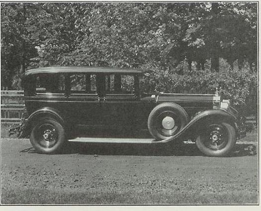 Packard Limo