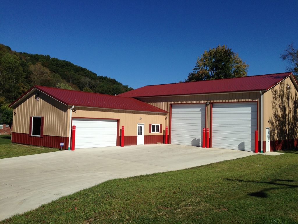 Funeral Home Equipment Storage Building