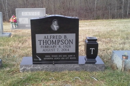 Headstone for Alfred B. Thompson