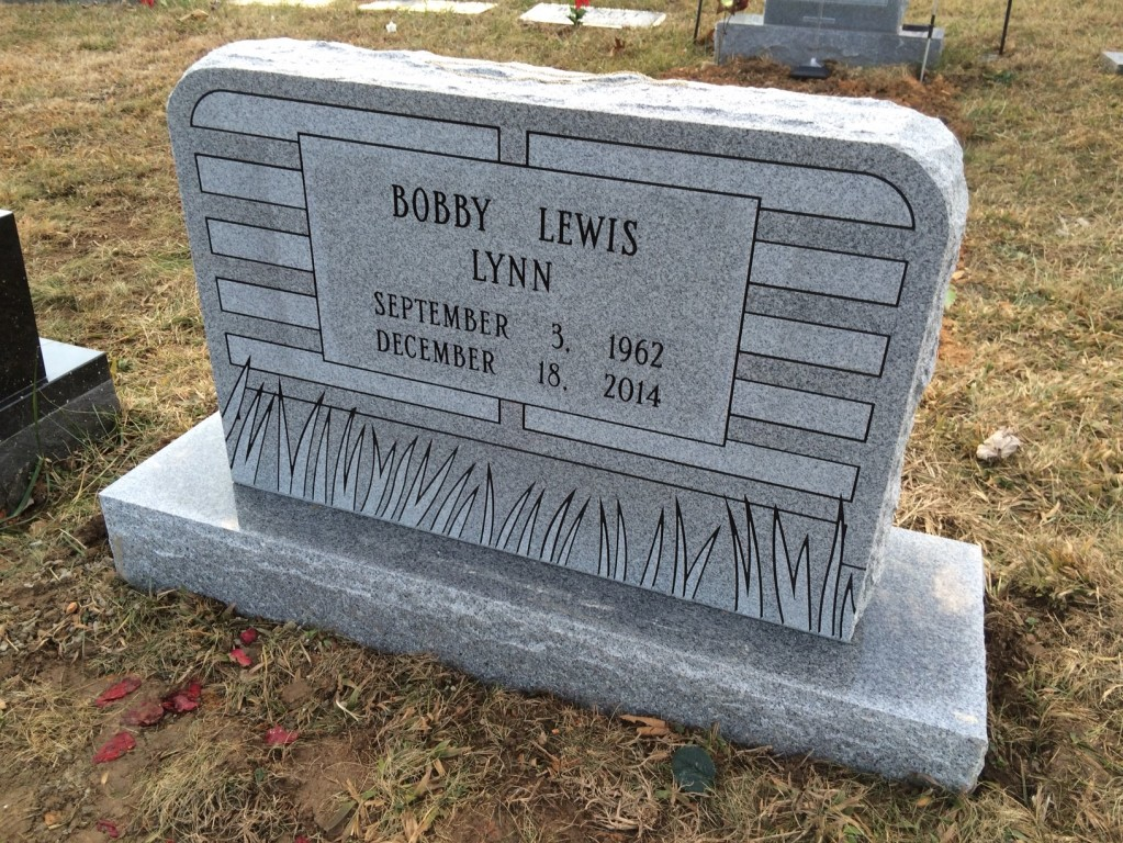 Headstone for Bobby Lynn