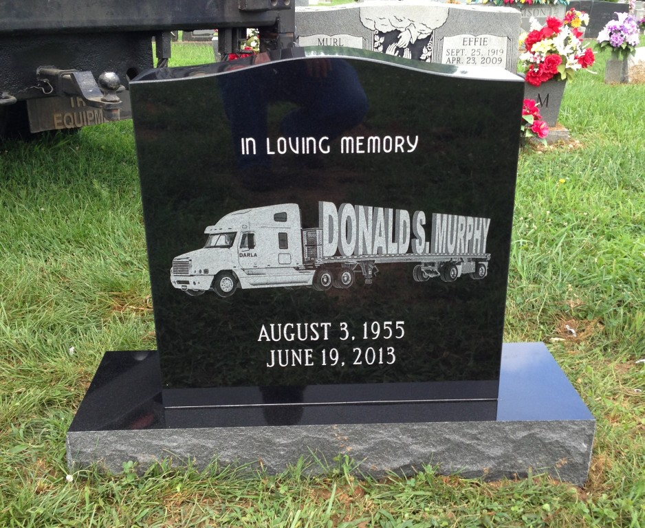 Headstone for Donald Murphy