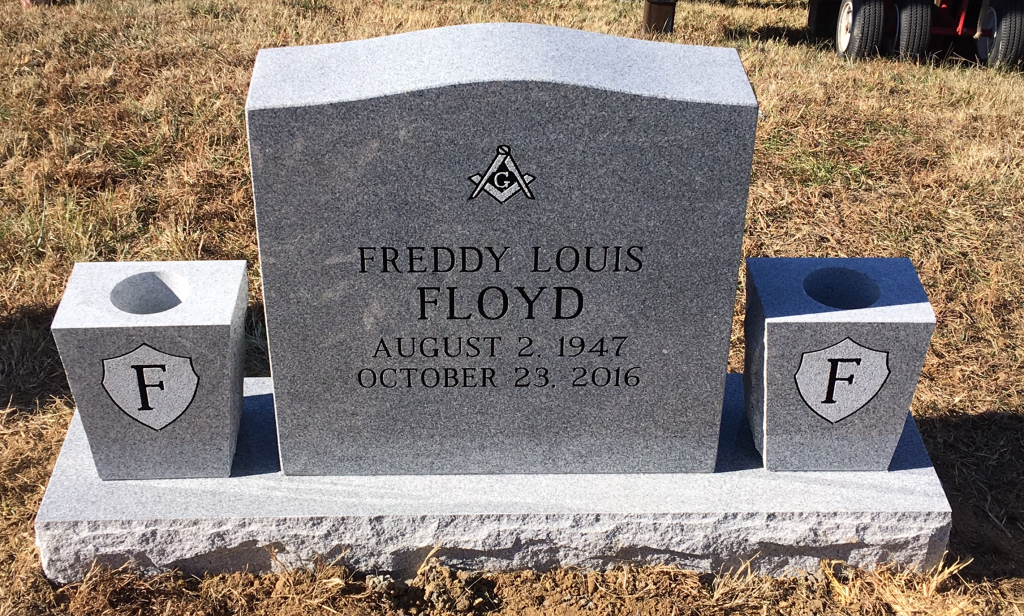 Headstone for Freddy Floyd