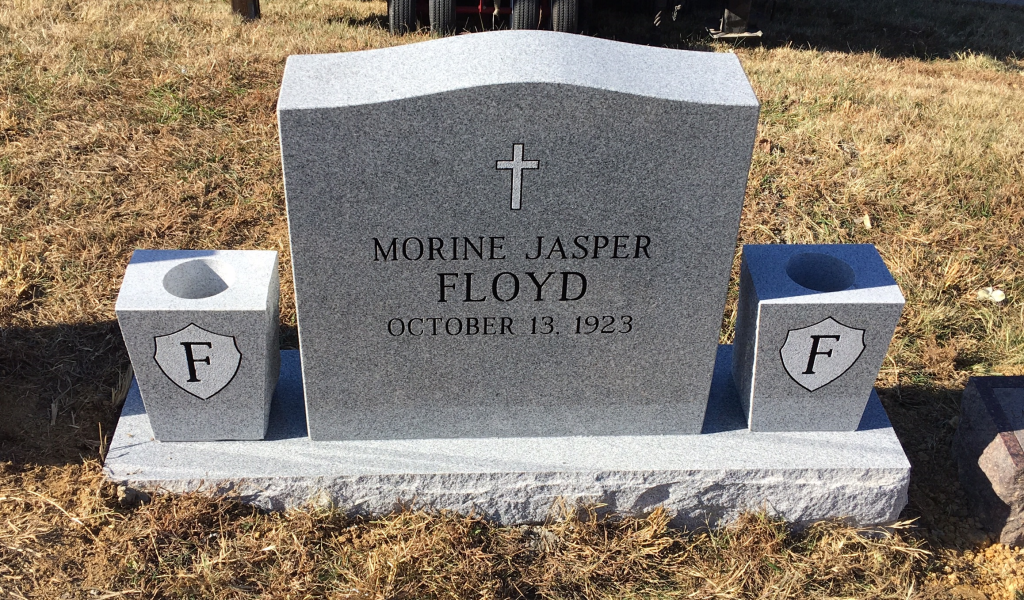 Headstone for Morine Jasper Floyd