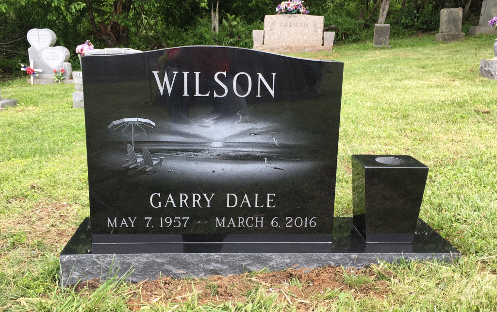 Headstone for Garry Dale Wilson
