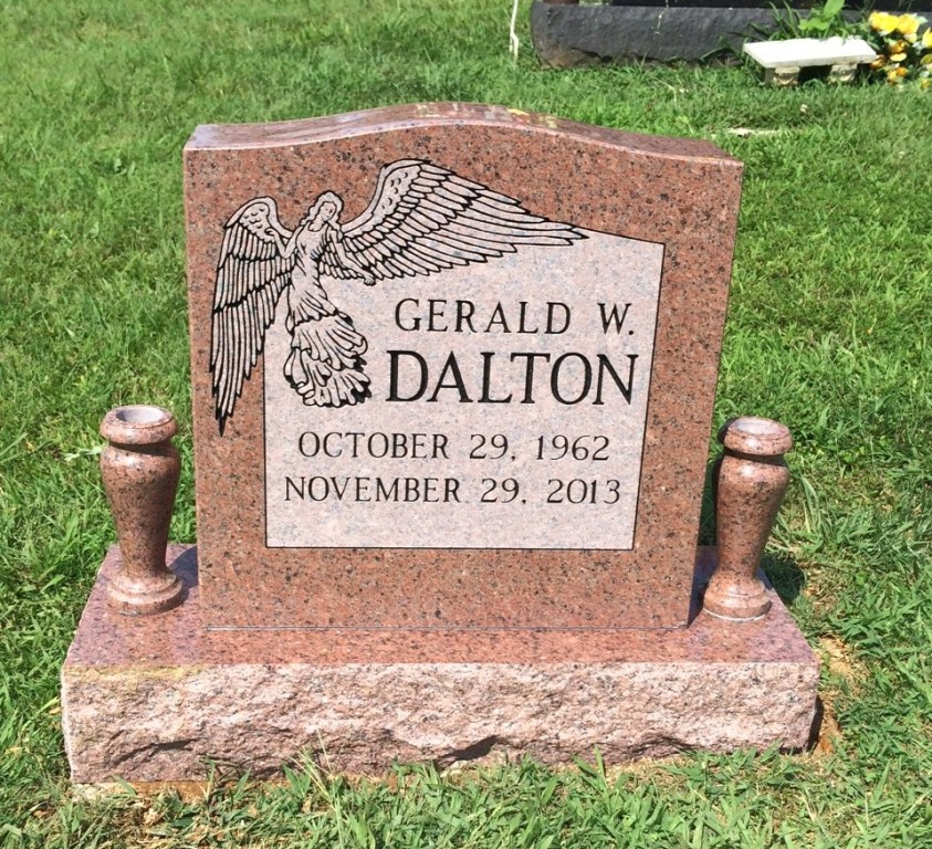 Headstone for Gerald Dalton