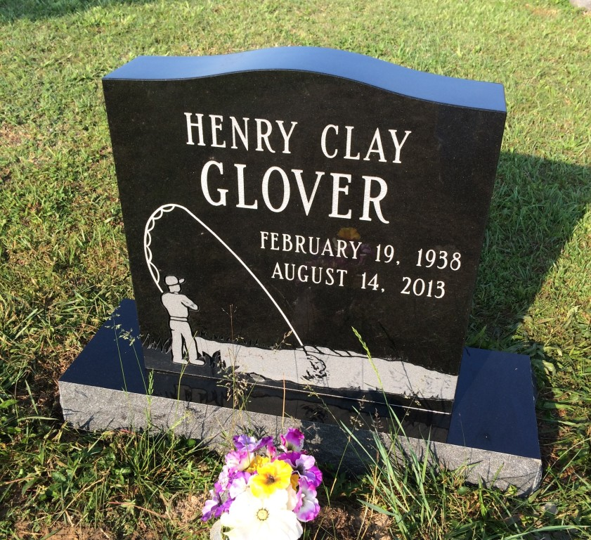 Headstone for Henry Clay Glover