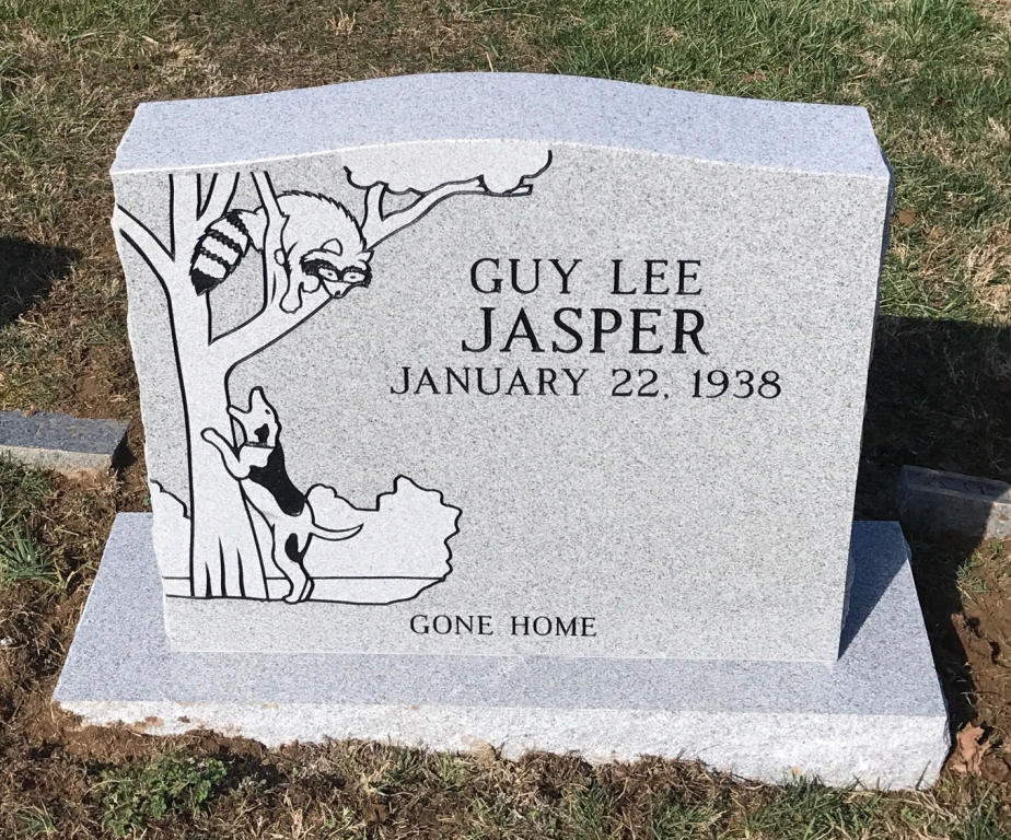 Headstone for Guy Lee Jasper