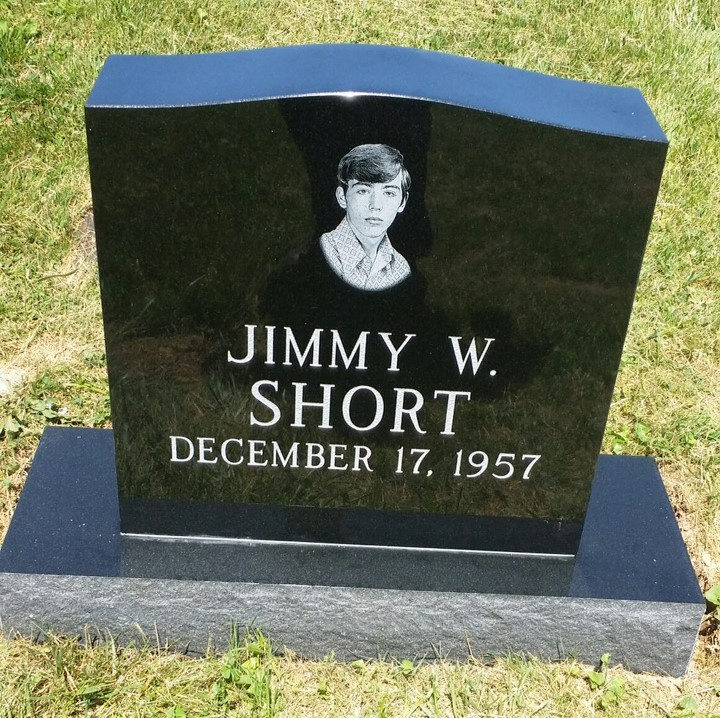 Headstone for Jimmy Short