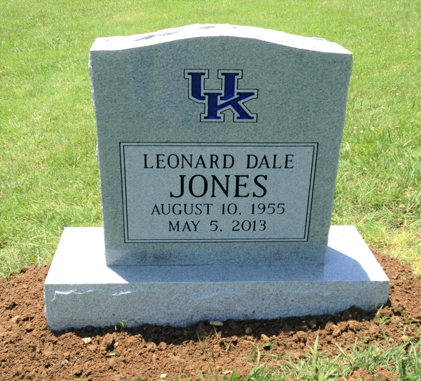 Headstone for Leonard Dale Jones