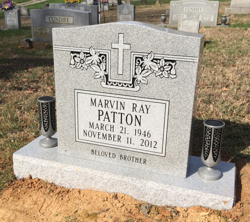 Headstone for Marvin Ray Patton