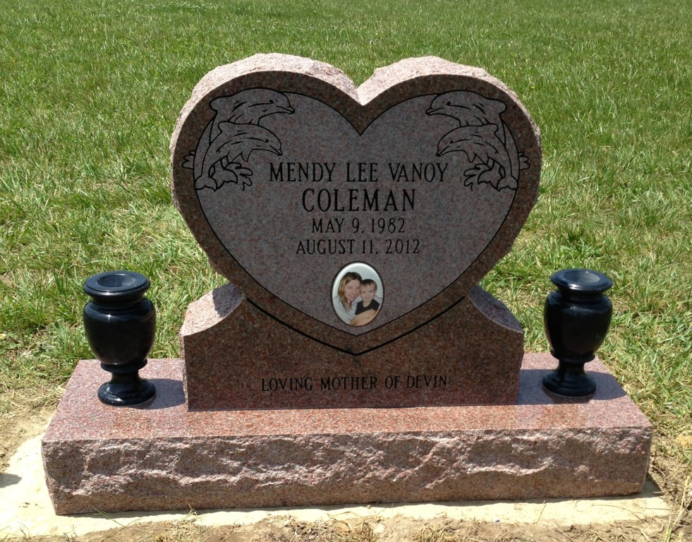 Headstone for Mendy Vanoy Coleman