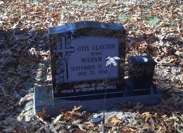 Headstone for Otis Wilham