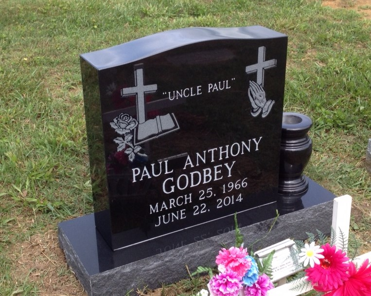 Headstone for Paul Anthony Godbey