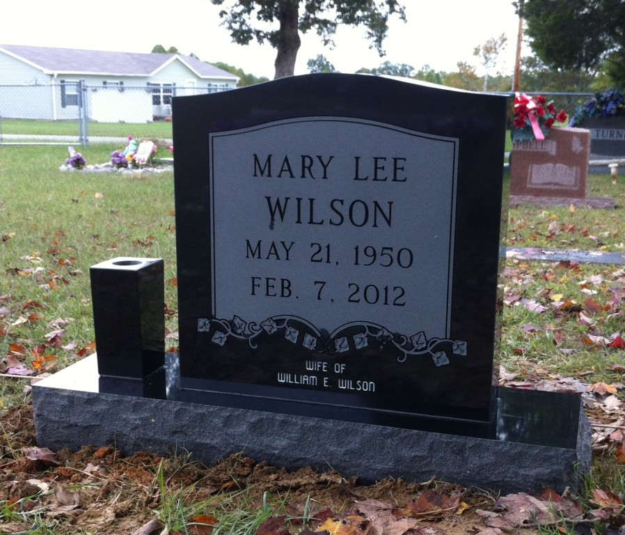 Headstone for Mary Lee Wilson