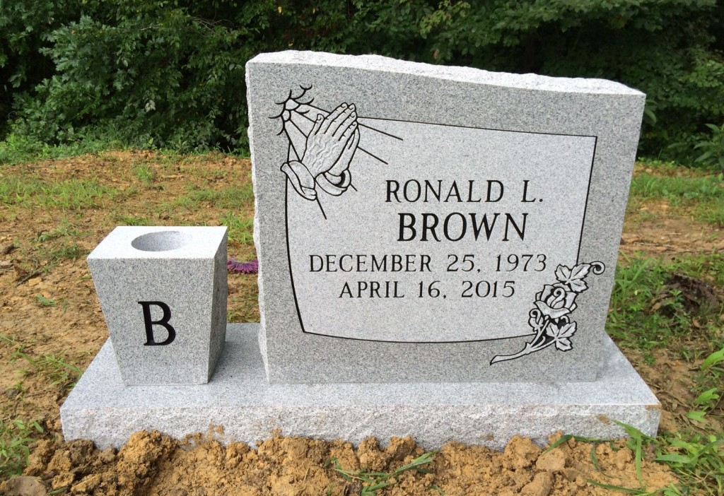 Headstone for Ronald L. Brown