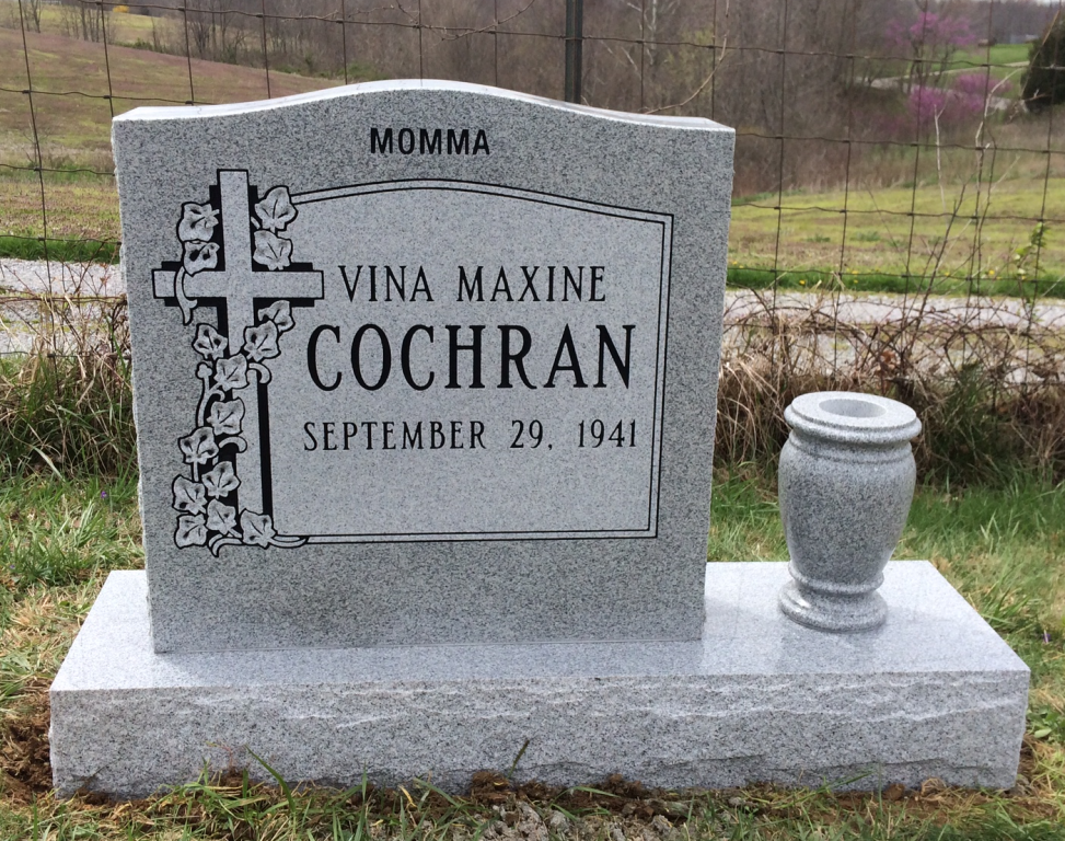 Headstone for Vina Maxine Cochran