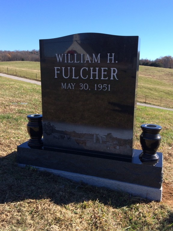 Headstone for William Fulcher