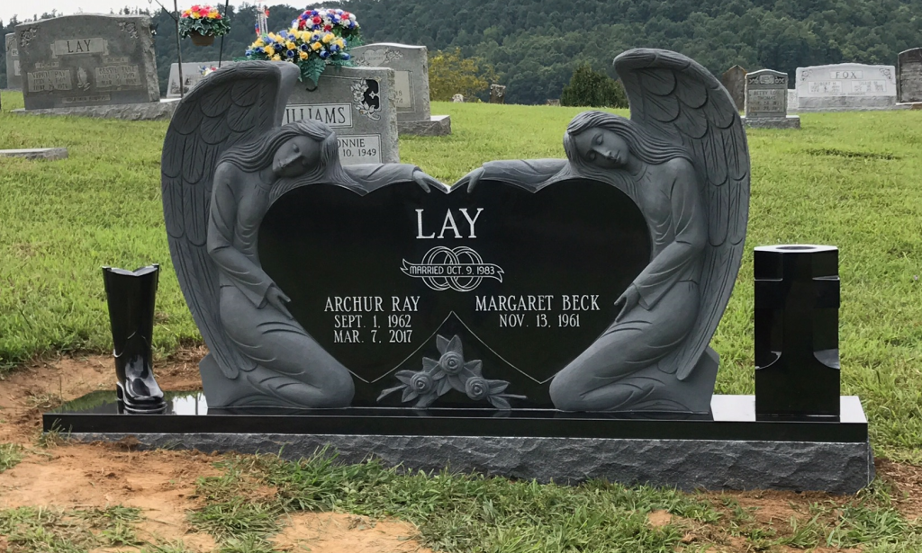 Front of Archur and Margaret Lay Headstone