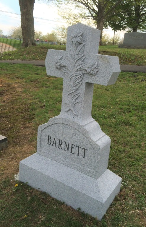 Barnett headstone