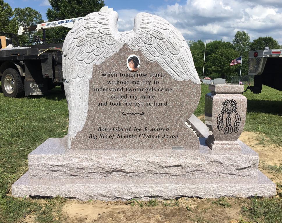Maddie Brockman headstone