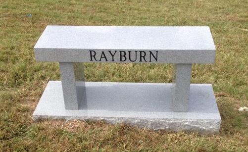 Rayburn bench