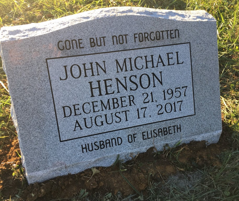 Slant marker for John Henson