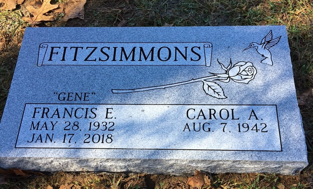 Flat marker for Fitzsimmons