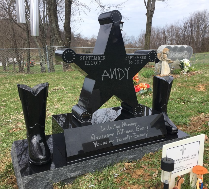 Headstone for Anderson Goode