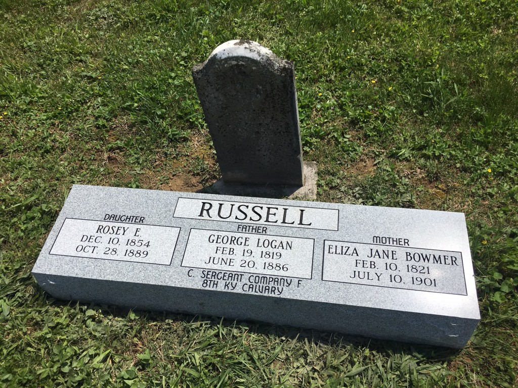 Bevel for the Russell family