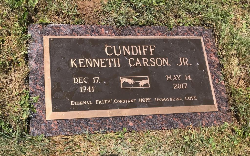 Bronze Marker for Ken Cundiff