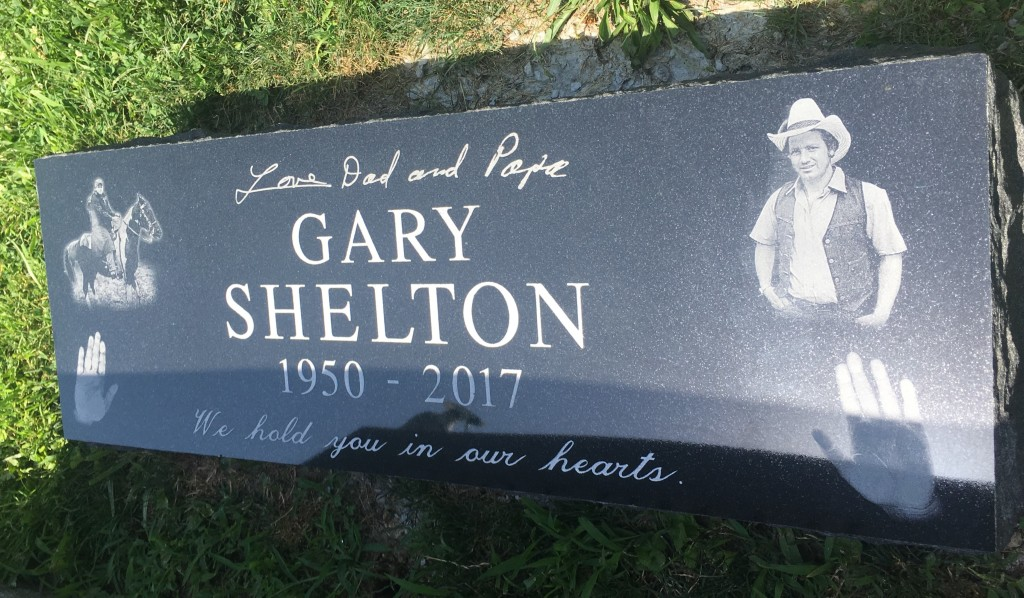 Bevel marker for Gary Shelton