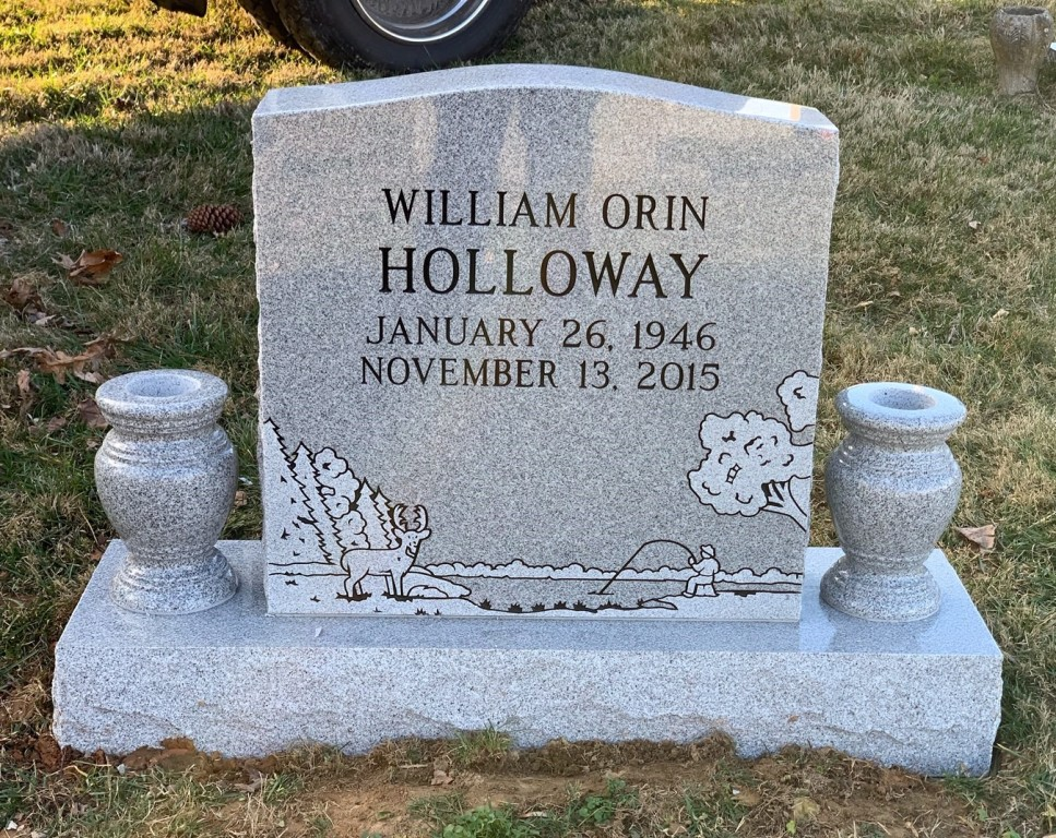 Headstone for William Holloway