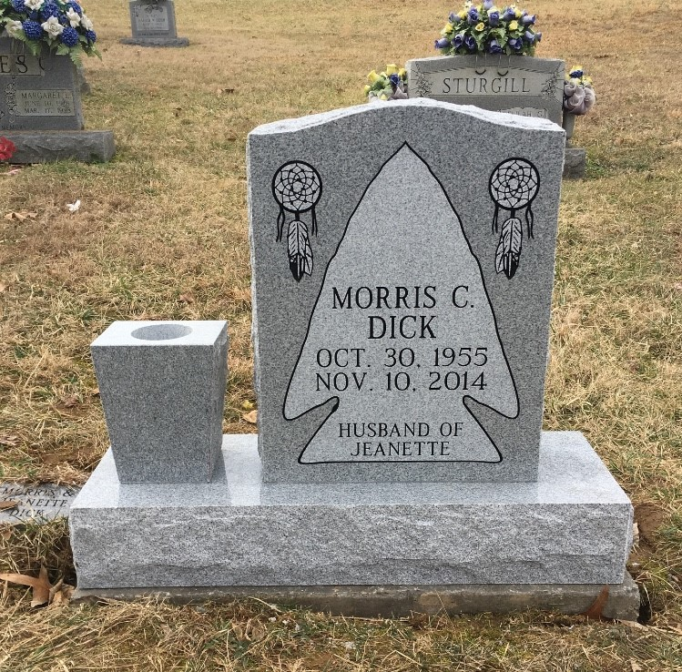 Headstone for Morris Dick