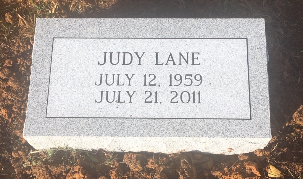 Bevel marker for Judy Lane