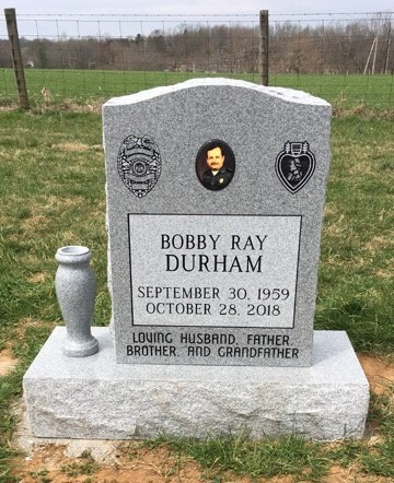 Headstone for Bobby Ray Durham