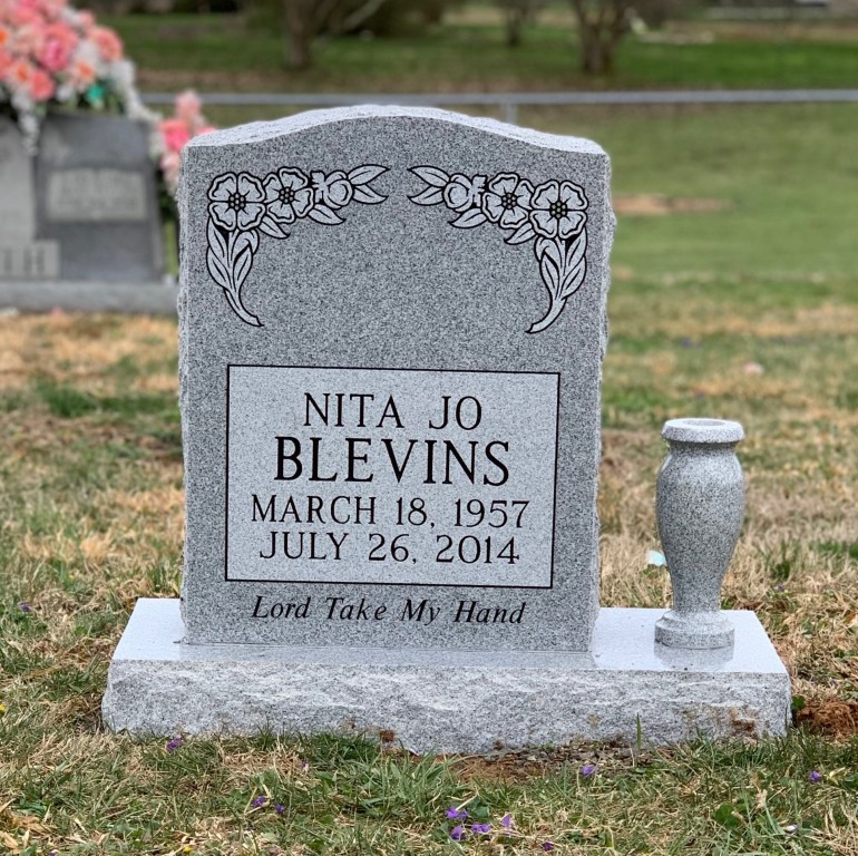 Headstone for Nita Blevins