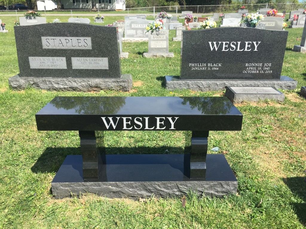 Bench for the Wesley's