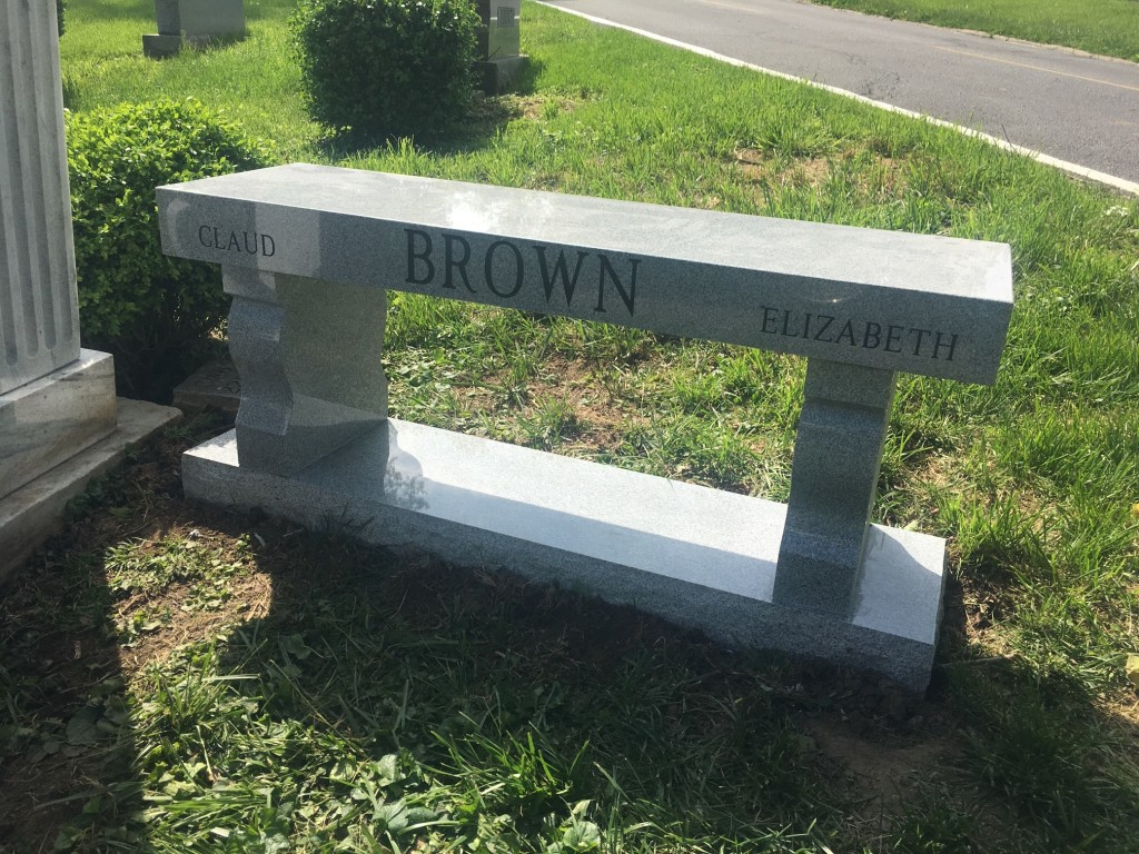 Bench for the Brown's