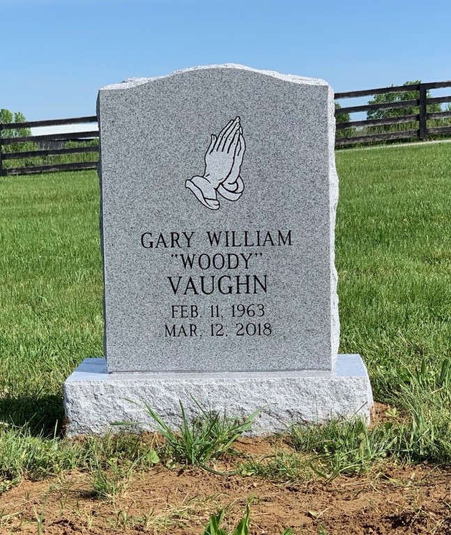 Headstone for Woody Vaughn